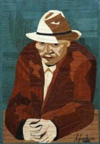 "Omaggio a Van Gogh ""Autoritratto"""