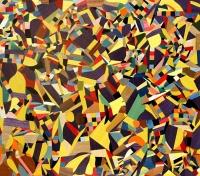 Caos (in giallo e viola)