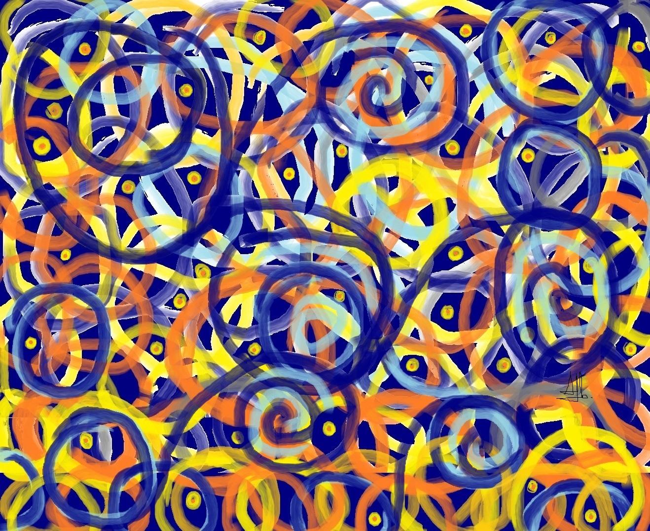 Sognando Van Gogh2(notte Stellata) (3)
