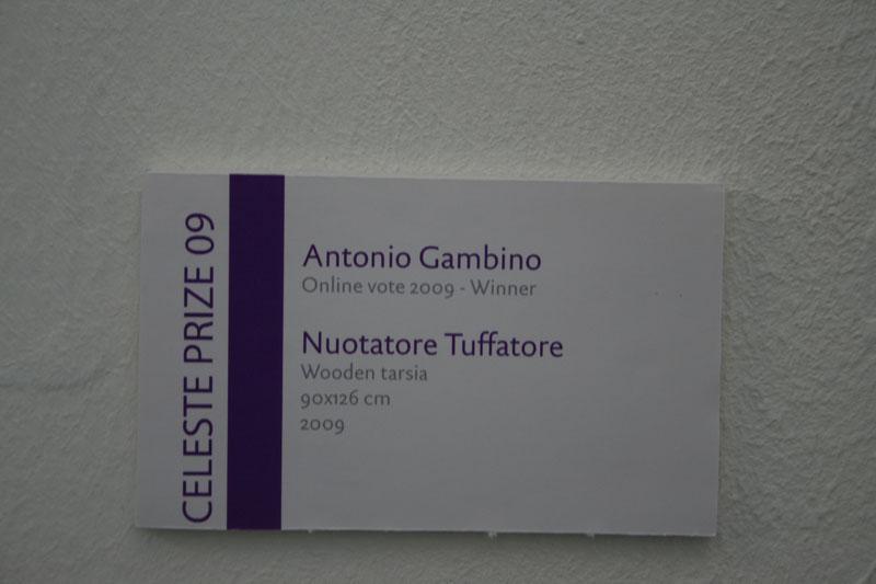 """Esposizione """"Celeste Prize"""" 2009"""